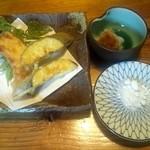 瀧茶屋 - 天ぷら盛り合わせ(2012/6)