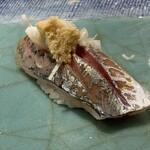 第三春美鮨 - 真鰺 100g 瀬付き 釣 兵庫県沼島
