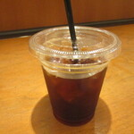 りくろーおじさんの店 - サービスのアイスコーヒー!