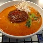 ハンバーグ一乗寺 - ハンバーグ担々麺850円