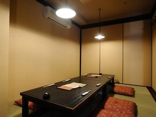 松風 - 掘り炬燵の寛げる個室です。