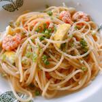 フィレンツェクラブ - エビとレモンのスパゲティ