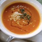 フィレンツェクラブ - あったかいスープ かぼちゃとにんじんのポタージュ