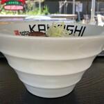 鶏 ソバ カモシ - 鶏soba味噌880円