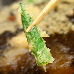 京都北山ダイニング - 旬野菜の天ぷらもご用意しております。