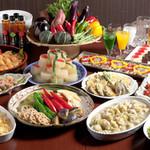 京都北山ダイニング - 農家から仕入れる旬な野菜をメインに使用したお料理。上品な京都らしい味付けが、お母さんにも大好評◎