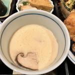 下桂茶屋 月波 - 茶碗蒸し
