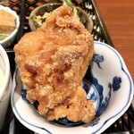 下桂茶屋 月波 - 鶏の唐揚げ