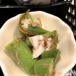 下桂茶屋 月波 - オクラと山芋