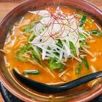 九頭馬 - 料理写真:スタミナニンニク味噌ラーメン