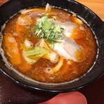 八味一心 - 料理写真:辛しょうゆ(麺 少なめ)