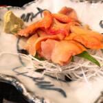 市場食堂 さかなや - 本日のオススメ一品 4位 活赤貝刺 700円
