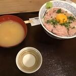 鮮魚・釜飯 ヒカリ屋 - 母が頼んだネギトロ丼(2020.9.13)