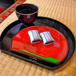 糸切餅 元祖莚寿堂本舗  - 料理写真: