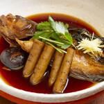おむすび 俵 - 魚の煮付け