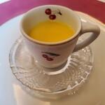 137185403 - 北海道村上農場の おひさまコーン(トウモロコシ)の冷製スープ
