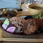 お野菜小皿料理のワインバル KiboKo - ヴィーガン♪一汁三菜ランチ