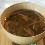 お野菜小皿料理のワインバル KiboKo - 味噌汁