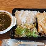 """ムンバイキッチン - Mumbai Kitchen Indian Restaurant @西葛西 サグチキンカリーを選んだ """"弁当ボックス B 税込650円"""
