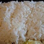 ムンバイキッチン - Mumbai Kitchen Indian Restaurant @西葛西 弁当ボックスの長粒種米