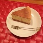 ユニ カフェ - チーズケーキ