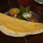 ダバ インディア - 2012.6 オニオンチーズドーサ(フルサイズ1,470円)