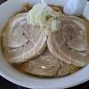 自家製太麺 渡辺 - 料理写真:ラーメン 煮豚トッピング