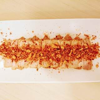 『おつまみチャーシュー』は癖になる美味しさ!必食です!