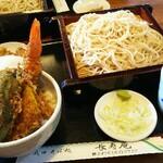 長寿庵 - 料理写真:天丼セット