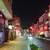 馬さんの店 龍仙 - 23時過ぎだと中華街は寝てます、左側の赤いテントの馬って書いてあるとこがこの店です