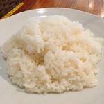 スープカレー カムイ - ライス大盛