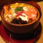 みちや寿司 沖村家 - 蒸し寿司
