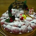 ピエールプレシュウズ - クリスマスケーキ