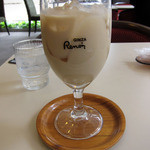 喫茶室ルノアール - アイス黒蜜ミルク