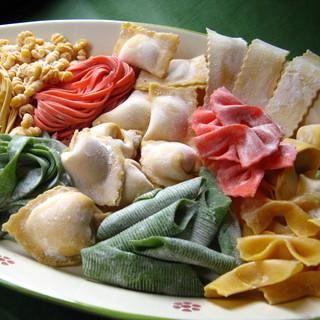 日本では珍しい《イタリア料理》の種類が豊富