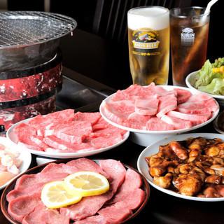 ○充実のドリンク○熱々の焼肉とご一緒に召し上がれ!