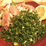 坂上家 - ムネ肉たたきポン酢