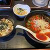 Ramengou - 料理写真:辛ラーメン+チャーシュー丼ランチ。920円。