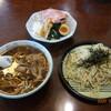 青竹手打ちラーメン 桐生宿 - 料理写真:きのこつけ麺