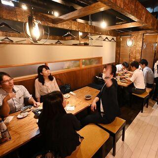◆『和とバルのMIX系』天ぷらをカジュアルにオシャレに◆
