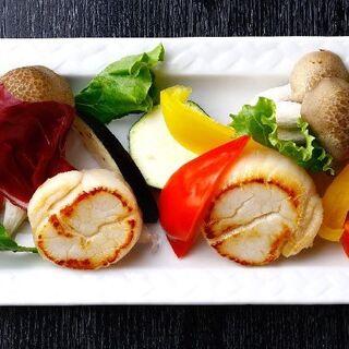 鮮度抜群な貝をお刺身でも♪炒・蒸・飯物など貝尽くしでご用意