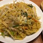 餃子菜館 勝ちゃん - 塩焼きそば600円