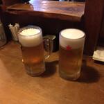 にこみちゃん - 生ビールはサッポロ