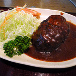 肉屋の肉料理 みずむら - ランチのハンバーグ