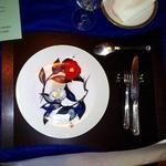 亜絲花 - 亜絲花 by NISHITANI店内テーブルセッティング20120701オープン日