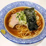らぁ麺や 一晃亭 - 料理写真:らぁ麺や 一晃亭(追い煮干中華 720円)