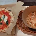 137219442 - ◆マルゲリータピザ·トマトとモッツァレラの生パスタ◆♪