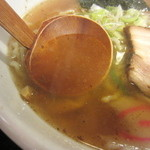 中華そば すみか - 中華そば スープアップ