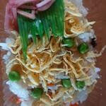 お食事処 湯舟食堂 - 料理写真:ちらし寿司