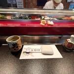 寿司栄 - いただきまぁ~す゚+.ヽ(≧▽≦)ノ.+゚